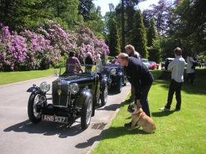 MG Crathes Car rally