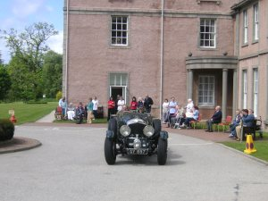 Crathes Car Rally Inchmarlo House